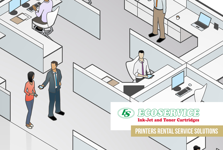 Printers rental service solutions