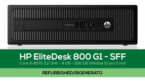 HP EliteDesk 800 G1 – SFF - Refurbished Hardware