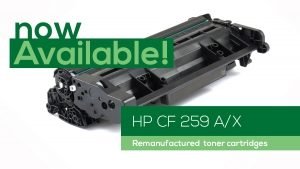 Remanufactured HP CF259 A/X toner cartridge now available!