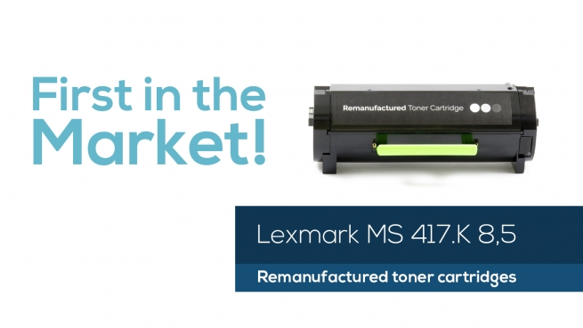 Ora disponibile la nuova Lexmark MS417 da 8,5K!