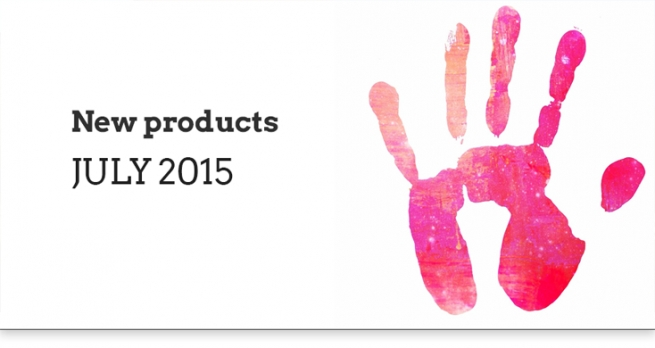 New Products - July 2015