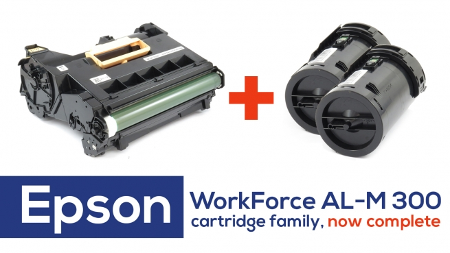Epson Workforce AL-M 300: remanufactured drum cartridge now available