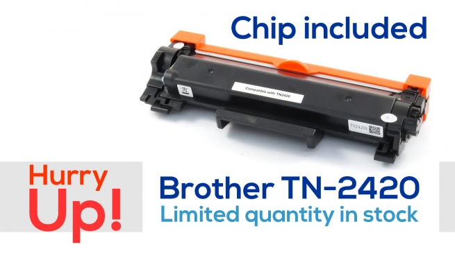 Brother TN-2420 (chip incluso): quantità limitate!