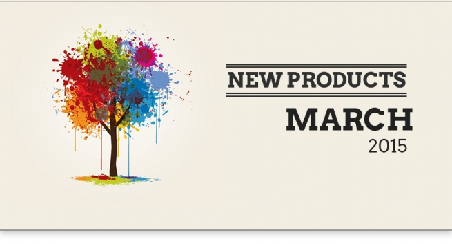 New Products - March 2015