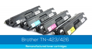 Remanufactured Brother TN 423/426 Now Available!