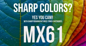 Sharp MX61 Remanufactured toner cartridges now available