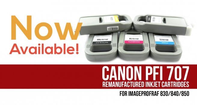 Try new remanufactured Inkjet catridges for Canon imagePROGRAF 830/840/850