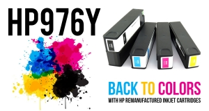 New Remanufactured HP 976Y Inkjet from Ecoservice!