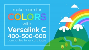 Make room for colors with Versalink C 400-500-600!