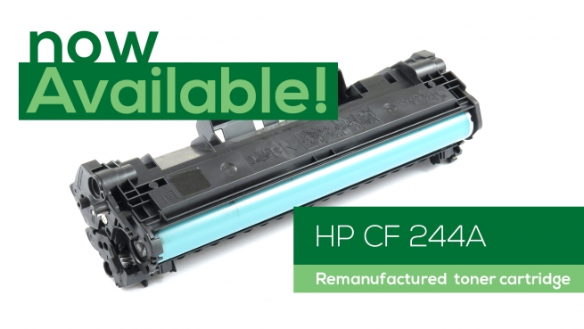 Now available: HP CF 244A (reman)