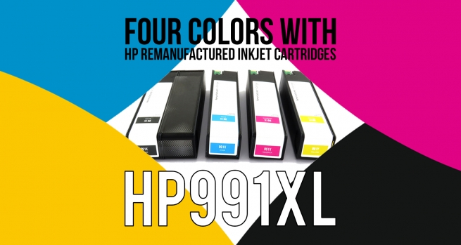 HP 991X Inkjet cartridges now available!