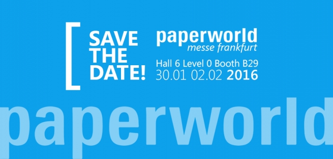 Paperworld 2016: Save the Date!