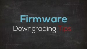 HP: Firmware downgrade procedure