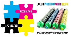New Remanufactured Toner Cartridges Ricoh Aficio SPC 830 / 831 Now Available from Ecoservice!!