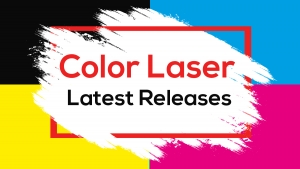 July 2020: New color laser products available!