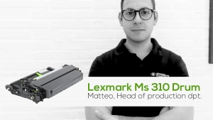 Lexmark MS 310 Drum: ora disponibile nel catalogo Ecoservice